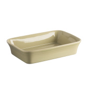 Mason Cash Classic Kitchen Stoneware Rectangular Dish, 31cm by 20cm - 0.6cm by 7cm , Green