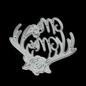 Metal Cutting Dies Stencil DIY Scrapbooking Embossing Album Paper Card Craft by TOPUNDER W