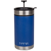Steel Toe French Press Coffee Travel Mug with Brü-Stop Technology - 590ml - Mountain Lake