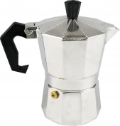 Uniware Aluminium Expresso Coffee Pot