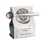 Coffee Scoop, Beokey Stainless Steel Long Handled Tea Spoon with Bag Clip, Silver