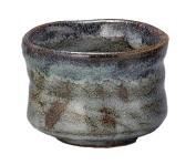 Yamakiikai Mino ware Marusho blue Shino princess tea bowl L1761