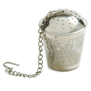 Happy Sales HSS-TBSC245, Stainless Steel Spice/ Tea Infuser, Strainer, Filter- 6.2cm