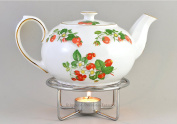 Teapot Warmer - Chrome Plated