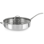 Calphalon Tri-Ply Stainless Steel 4.7l Saute Pan with Cover