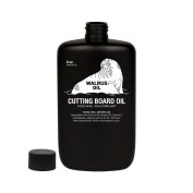 WALRUS OIL, Wood Cutting Board Oil, 240ml Bottle, Food-Safe