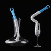 Bottle Cleaning Brush, Flexible Scourer for Wine Bottle Glass Decanter