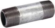 Mueller 570-030BC Pipe Nipple, 7.6cm , Threaded, 7.6cm L, Steel, Galvanised