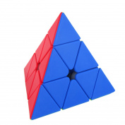 Pyraminx Pyramid Magic Cube 3x3x3 Speed Cube Puzzle Professional Learning Educational Gift Toys Anti-stress for Adults Children - Multi