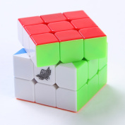 40mm Cube 3x3x3 Mini Magic Cube Puzzle Speed Square Puzzle Stickerless Gifts Toys for Children Adults