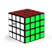 4X4 Magic Cube Puzzle Speed Cube Square Cube 6.2x6.2x6.2 cm Toy - Black