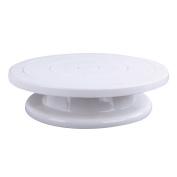 Skyoo Kitchen Cake Plate Revolving Decoration Stand Platform Turntable Round Rotating Cake Swivel Baking Tool