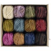 Hand Dyed 3-Strand Floss Designer Set 29yd 12/Pkg