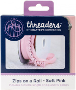 Crafter's Companion Threaders Zips On A Roll 5-1/2yd