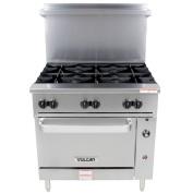 Vulcan 36S-6B 90cm Endurance Restaurant Range w/ Standard Oven