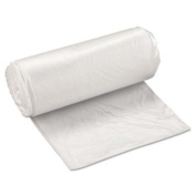 IBSS243308N High-Density Can Liner, 24 x 33, 60.6l, 8 Micron, Clear, 50/Roll