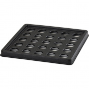 Cambro Camrack Ice Express Cup Filler 25 Glasses Black