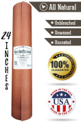 "Pink Butcher Kraft Paper Roll - 24 "" x 175' (2100"") Peach Wrapping Paper for Beef Briskets - USA Made - All Natural FDA Approved Food Grade BBQ Meat Smoking Paper - Unbleached Unwaxed Uncoated Sheet"