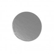Round Silver Mono Board, 10cm - Pack of 25