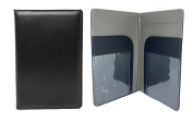 Server Book | Waitress Book Organiser | 8x5 Perfect Size | Black | 7 Pockets | Holds Guest Book Cheques | Fits In Aprons