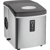 Stainless Steel Igloo Compact Ice Maker