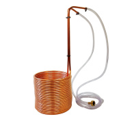 NY Brew Supply Wort Chiller, 1cm x 15m, Copper