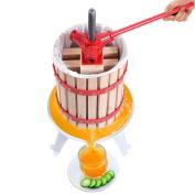 Fruit Wine Press Cider Apple Grape Crusher Juice Maker, 6.1l