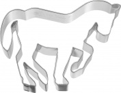 Birkmann Cookie Cutter 1010699210 Pferd in Piaffe, 11 cm, 5 x 3 x 2 cm Plastic Grey