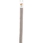 Designer Lace Plastic Zipper 60cm