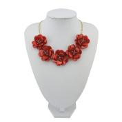 BOCAR Statement Pendant Choker Flower Necklace for Women
