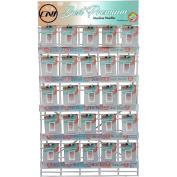 Clover Machine Needle 75pc Assortment W/Rack