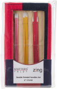 Knitter's Pride-Zing Double Pointed Needles Set