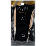 Knitter's Pride-Basix Fixed Circular Needles 41cm