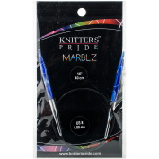 Knitter's Pride-Marblz Fixed Circular Needles 41cm