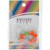 Knitter's Pride Zooni Stitch Markers W/Coloured Beads 7/Pkg
