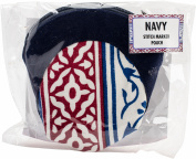 Knitter's Pride Navy Stitch Marker Pouch