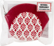 Knitter's Pride Reverie Burgundy Stitch Marker Pouch