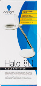 Daylight Halo 8D Table Magnifier