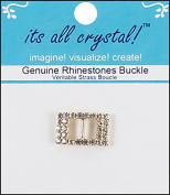 Vision Trims Genuine Rhinestone Buckle 21mm