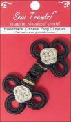 Vision Trims Handmade Chinese Frog Closure 7.6cm - 1.3cm x 4.4cm 1/P