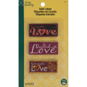 Dritz Quilting Sew-In Embroidered Labels 9/Pkg