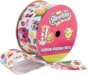 Offray Shopkins Ribbon 2.5cm - 1.3cm X2.7m