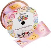 Offray Tsum Tsum Ribbon 2.5cm - 1.3cm X2.7m