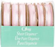 Offray Sheer Elegance Boxed Ribbon Assortment 24/Pkg