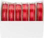 Offray Satin Opalesence Boxed Ribbon Assortment 24/Pkg