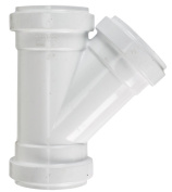 Plastic Trends Sewer Wye 10cm Pvc