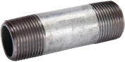 Mueller 571-040BC Pipe Nipple, 10cm , Threaded, 10cm L, Steel, Galvanised
