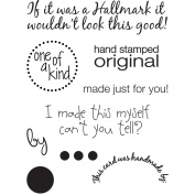 My Sentiments Exactly Clear Stamps 7.6cm x 10cm Sheet