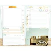 Colour Crush Personal Planner Inserts 12/Pkg