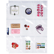 9-Pocket Storage Page 22cm x 28cm 25/pkg